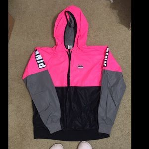 Thick Victoria Secret Pink Windbreaker